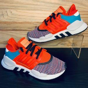 New Adidas EQT Support 91/18 Boost Orange Running